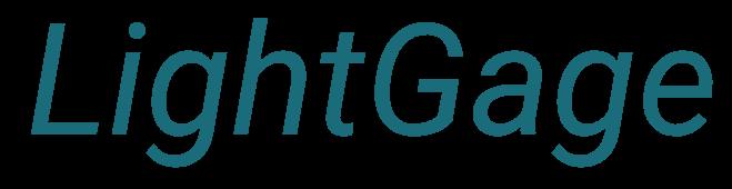 Lightgage Logo Blue Placeholder